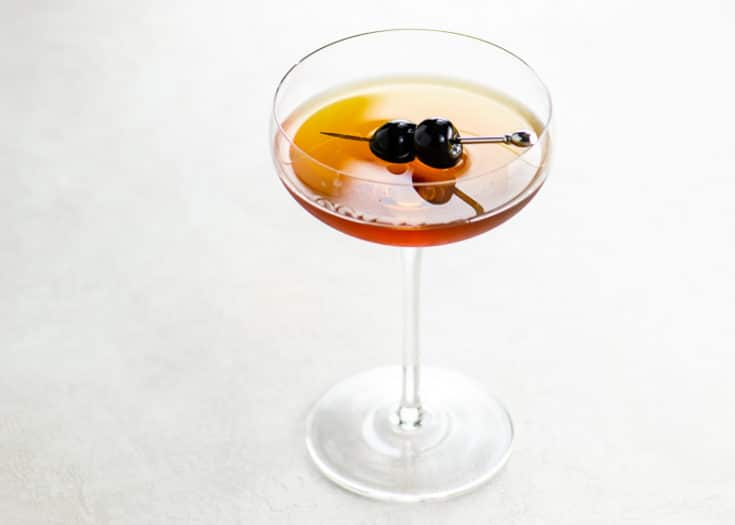Manhattan Cocktail Recipe Variations Perfect Manhattan Little Italy Umami Girl