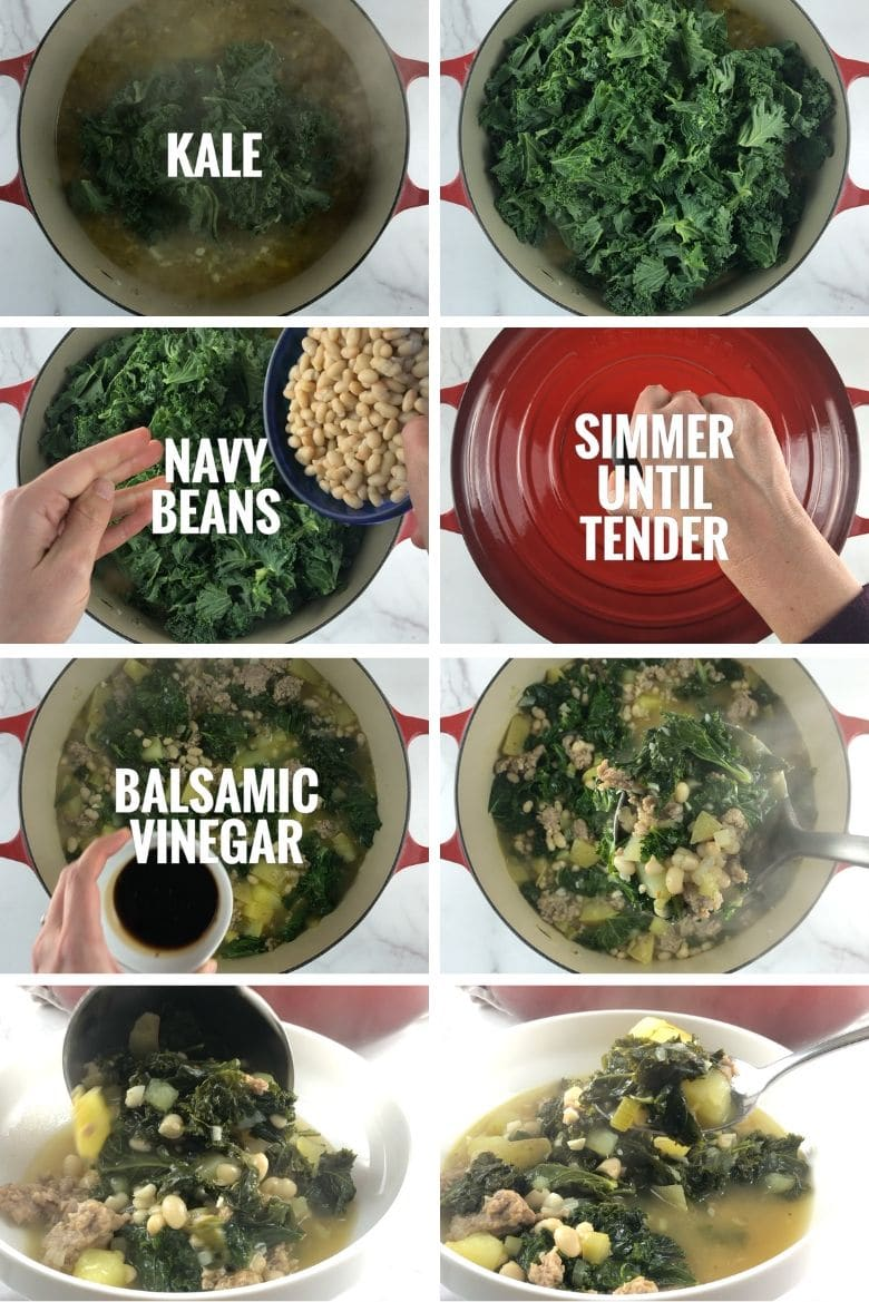Sausage Potato Kale Soup Step by Step 3 _ Umami Girl