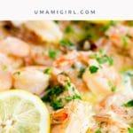 How to Make Shrimp Scampi Recipe Pin 3 _ Umami Girl