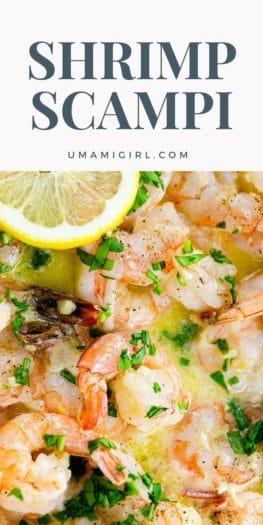 How to Make Shrimp Scampi Recipe Pin 4 _ Umami Girl