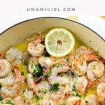 How to Make Shrimp Scampi Recipe Pin _ Umami Girl