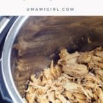Instant Pot Shredded Chicken Breast Recipe Pin _ Umami Girl