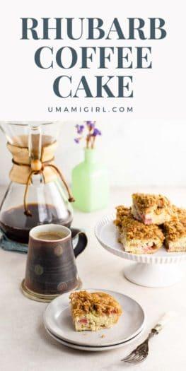 Rhubarb Coffee Cake Pin _ Umami Girl