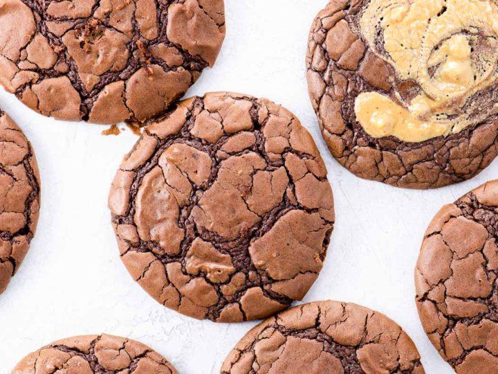 100 cookies brownie cookies