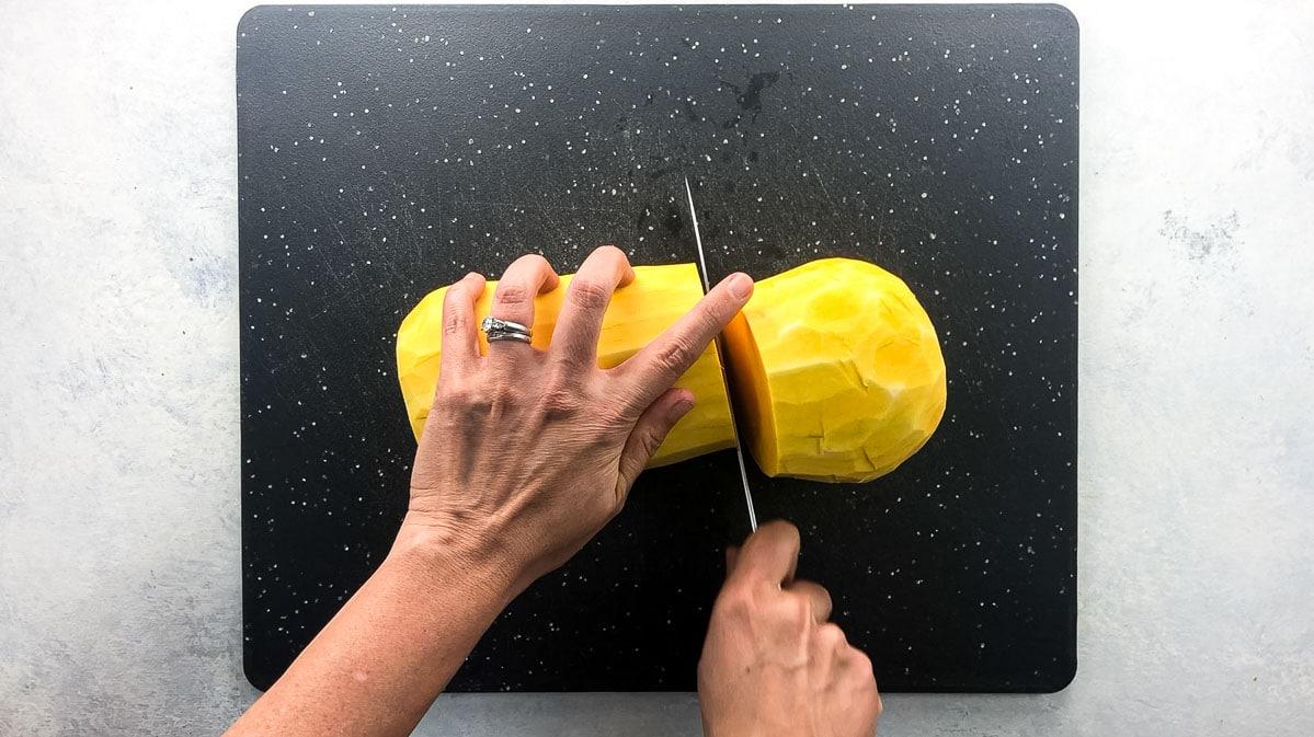 cutting squash across the beltline