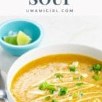 carrot and lentil soup pin