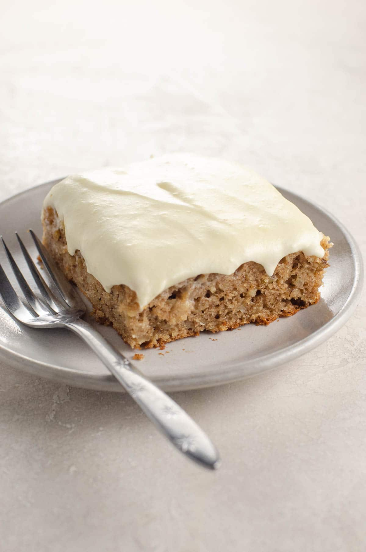 parsnip cake with cream cheese frosting