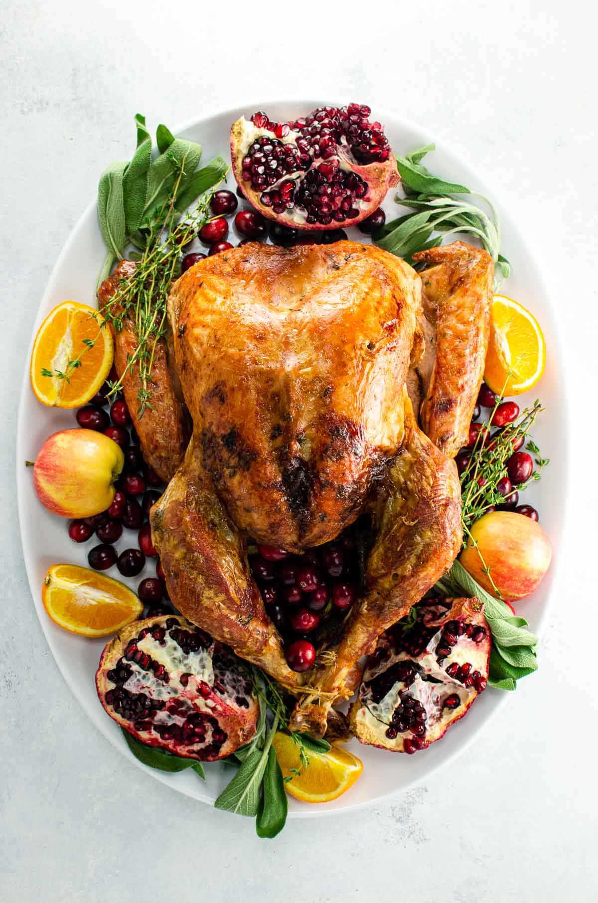 how to cook a free range turkey and decorate a turkey platter
