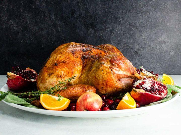 cooking a free range turkey