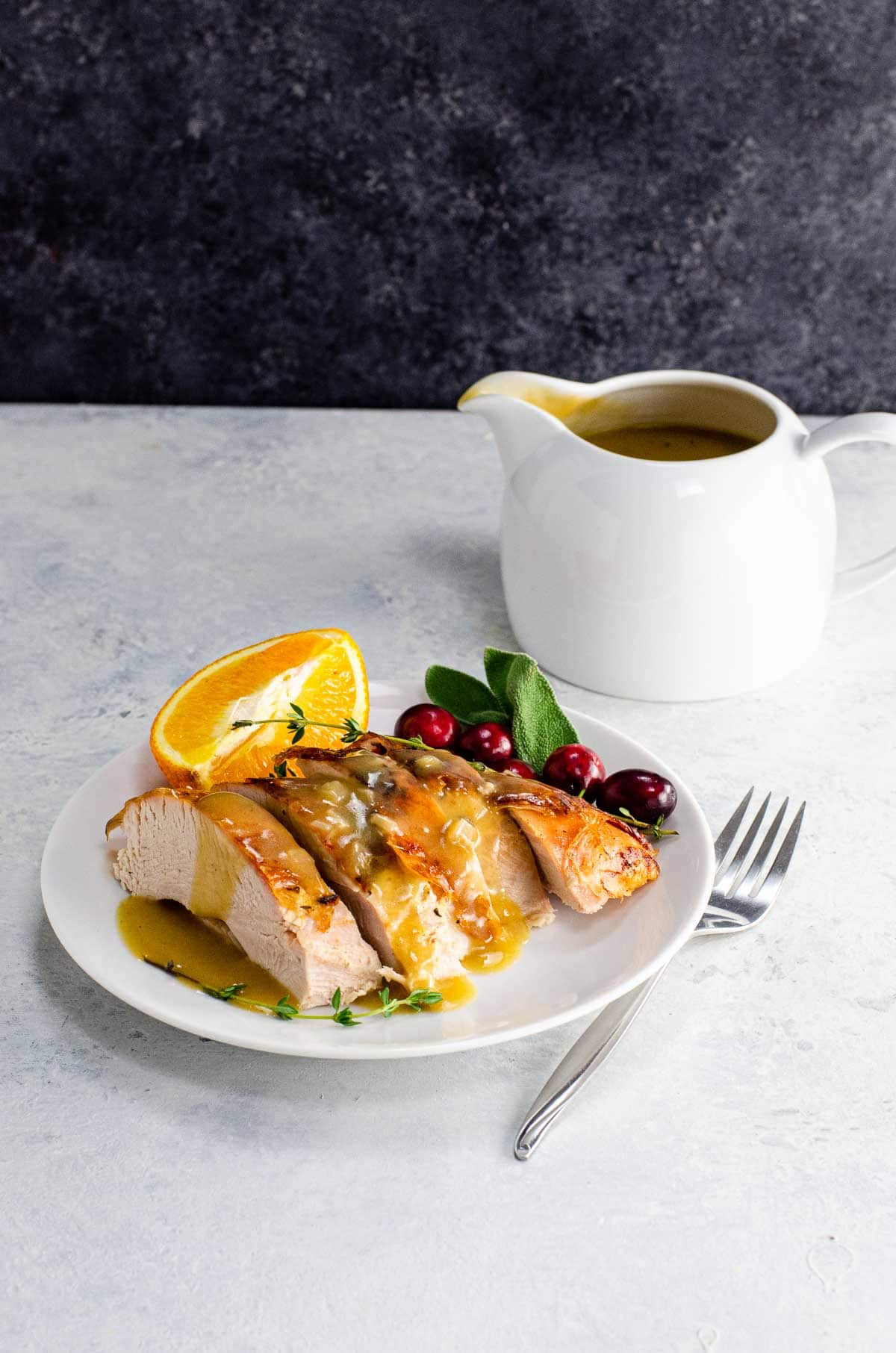 turkey neck gravy without drippings