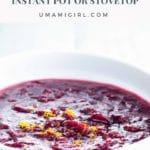 Instant Pot Cranberry Sauce Pin
