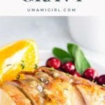 turkey neck gravy without drippings (make-ahead)