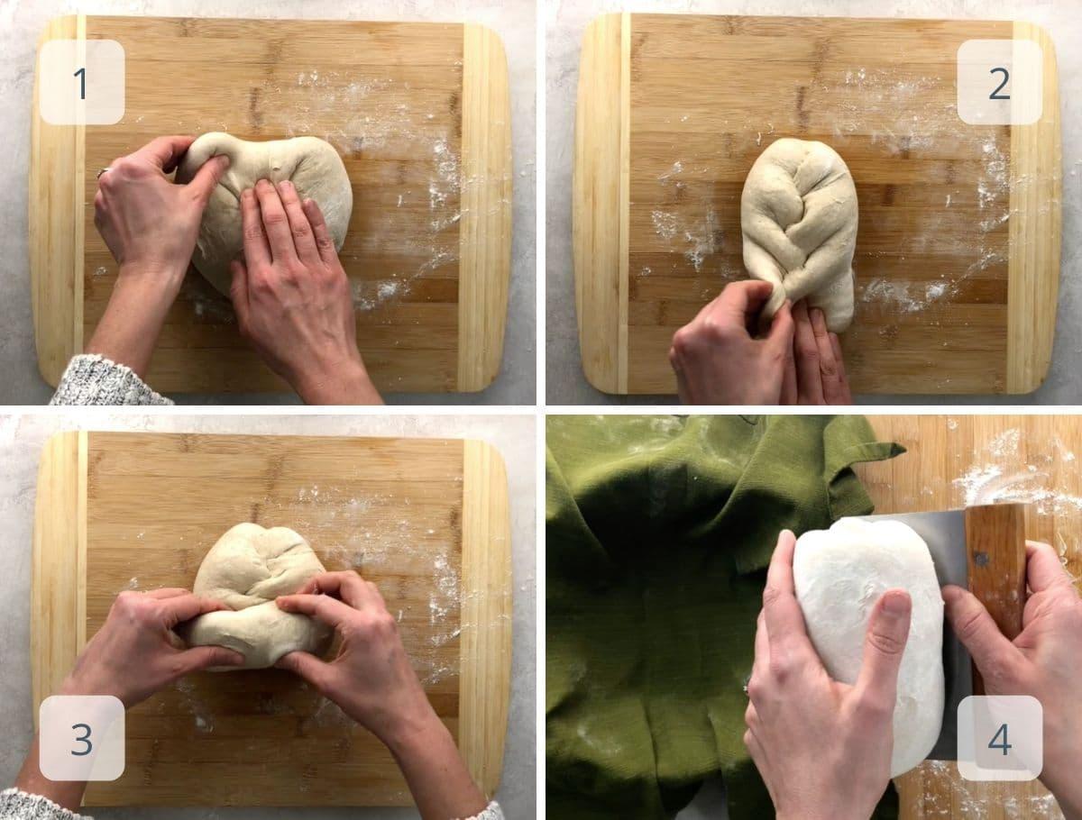 final bread shaping